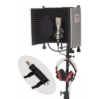 Home Studio Vocal Recording Package - BM-600 Condenser + USB Interface