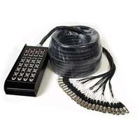 Multicore Cable w/ Stage Box - 24 Channels