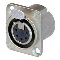 Neutrik NC5FD-LX 5-pin XLR(f) Socket Connector - D-size