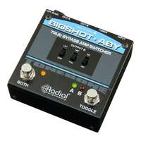 Radial BigShot ™ ABY True Bypass Guitar Amp Switcher / Selector