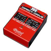 Radial JDX Direct-Drive Amp Simulator and DI Box Guitar Pedal