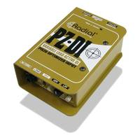 Radial PZ-DI™ Orchestral and Acoustic Instrument Active DI / Direct Box