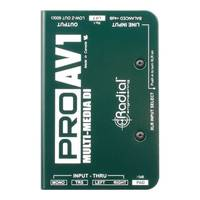 Radial ProAV1 Multimedia DI