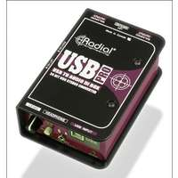 Radial USB-PRO Stereo USB - Computer Digital DI Box - Audio Interface