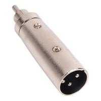 Audio Adapter - XLR male to RCA male