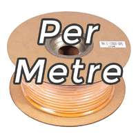 Coloured Instrument / Guitar Cable - ORANGE - Per Metre