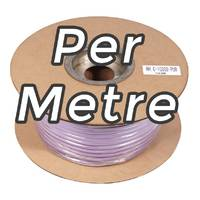 Coloured Instrument / Guitar Cable - PURPLE - Per Metre