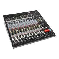 SWAMP S18-MK2 18CH Mixing Desk - Compressor - Effects - USB Audio Interface