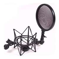 iSK SMP-1 Studio Microphone Shockmount w/ Pop Filter