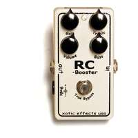 Xotic RC Booster - 'Really Clean' Booster - Guitar Pedal