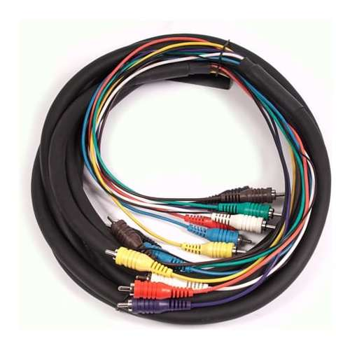 swamp 8 channel rca snake cable. Black Bedroom Furniture Sets. Home Design Ideas