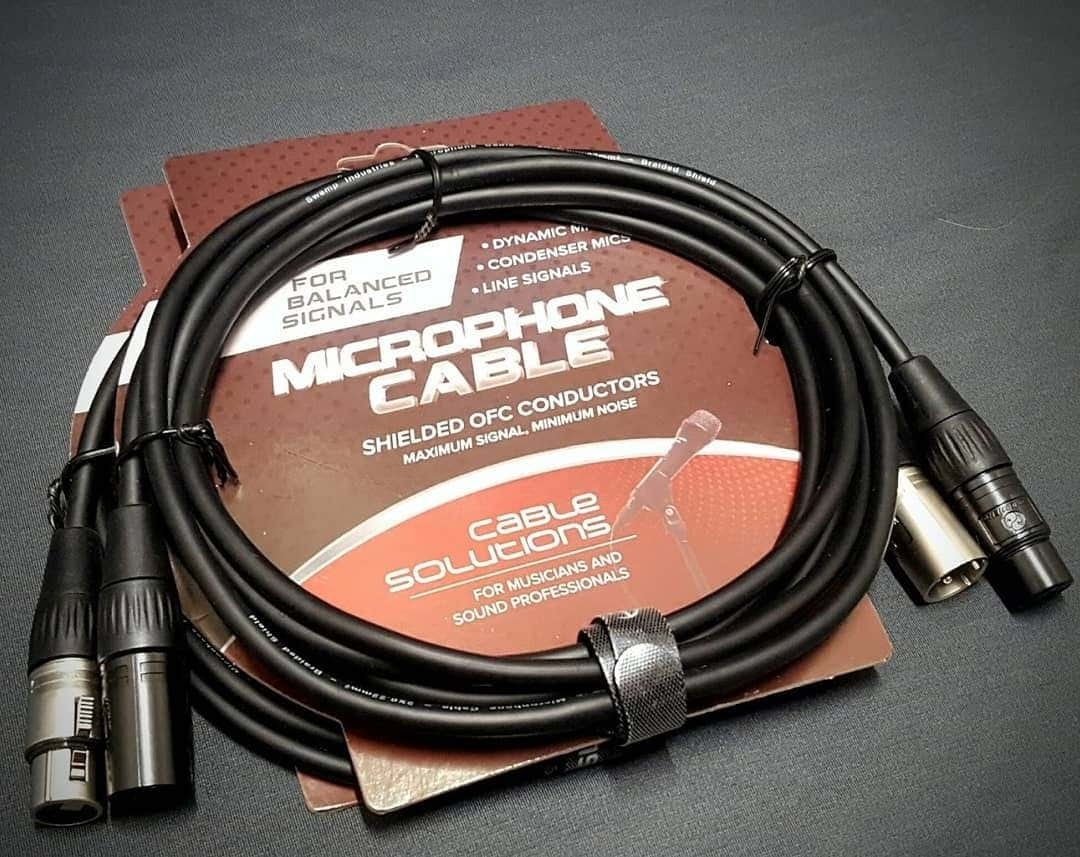 SWAMP-Stage-Series-Balanced-XLR-Microphone-Cables-Wide-Range-of-Lengths thumbnail 42