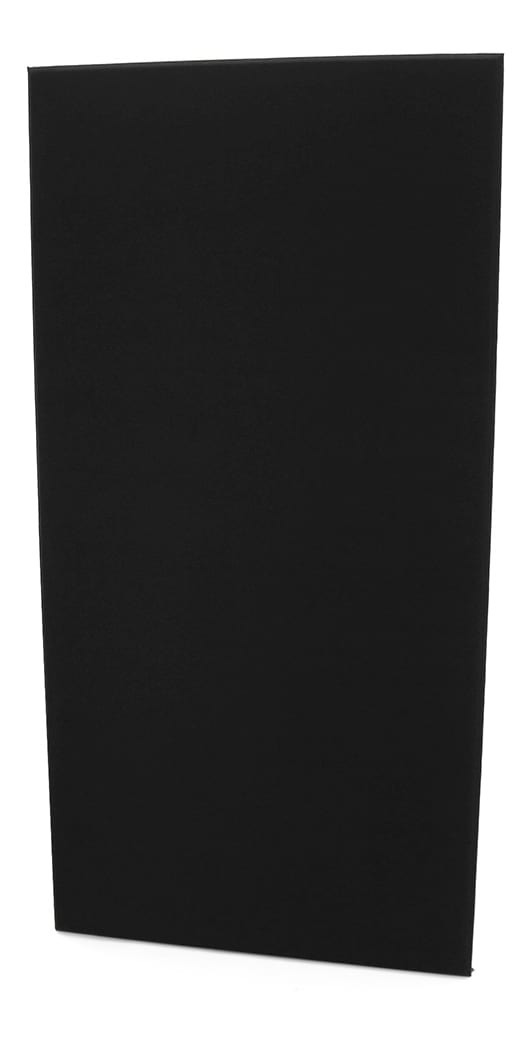 Fibreglass Acoustic Treatment Panel - Black Colour - 120cm x 60cm