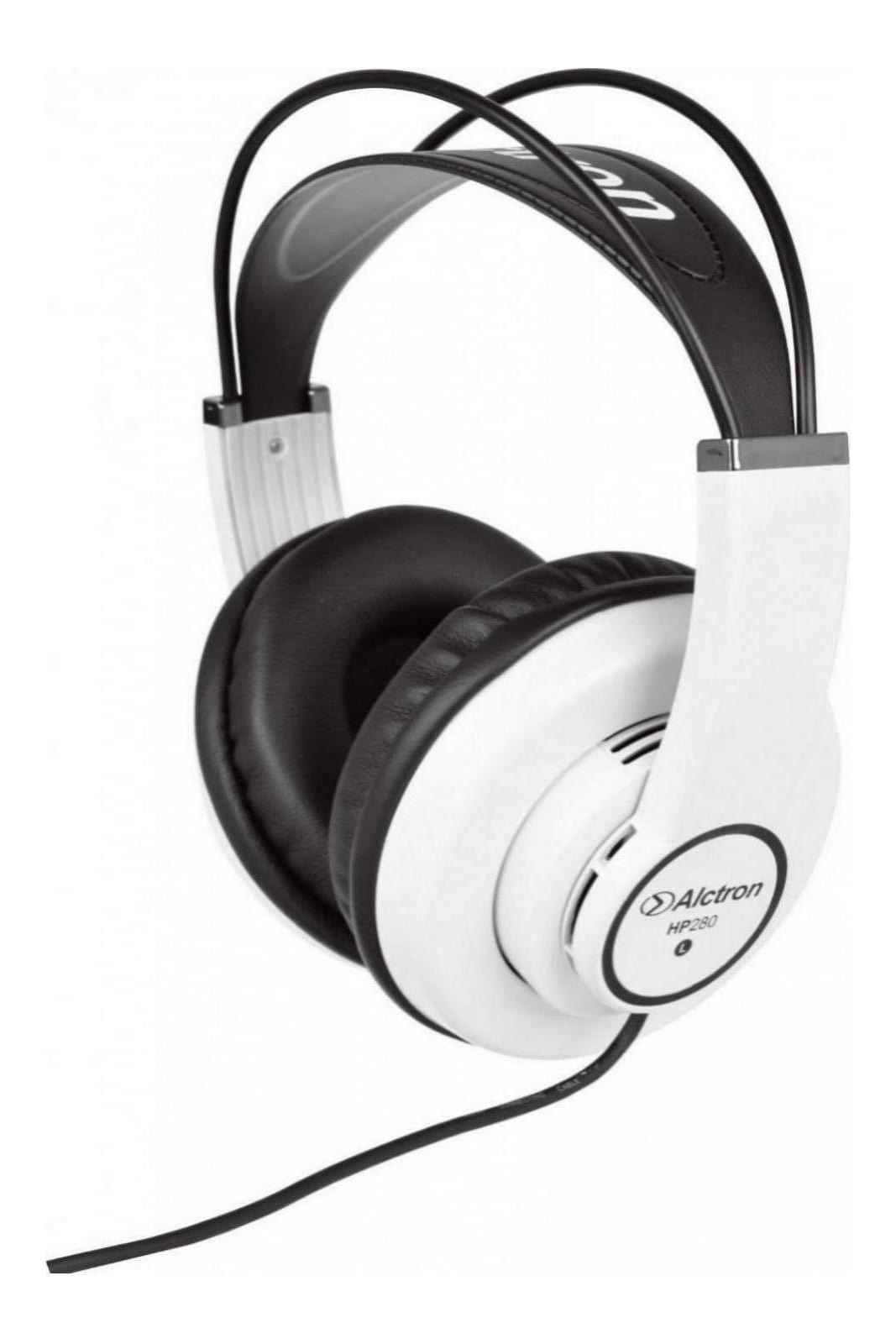 Alctron HP280 Studio Monitoring Classroom Over-Ear Headphones - White
