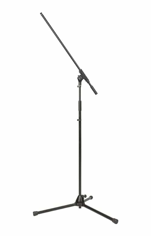 SWAMP Vocal Microphone Mic Stand w/ Boom - Single
