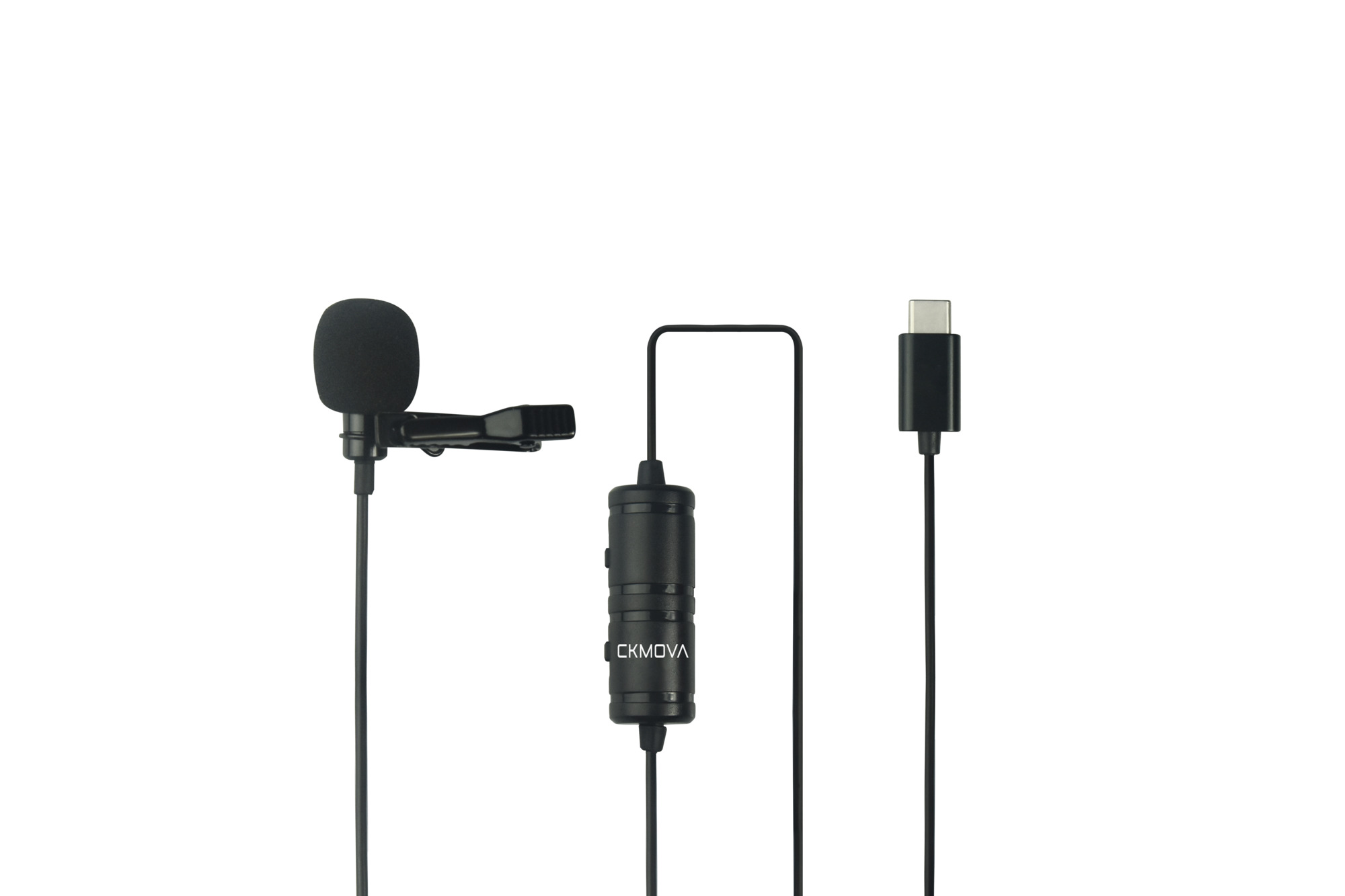CKMOVA LCM1C Lavalier Microphone for USB Type-C Devices