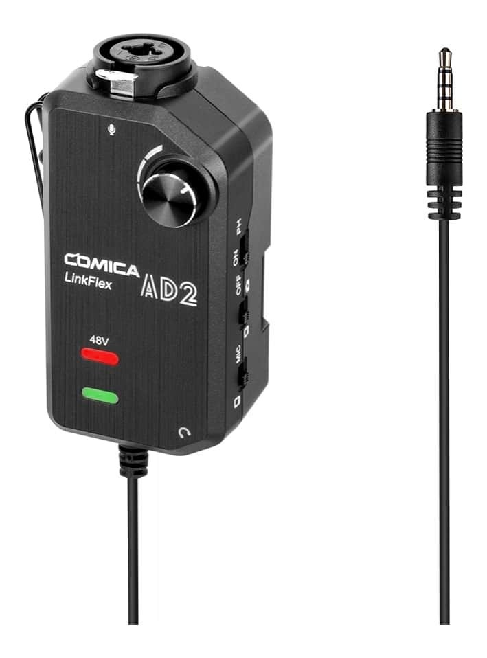 Comica LinkFlex AD2 Single-Channel Microphone and Guitar Interface