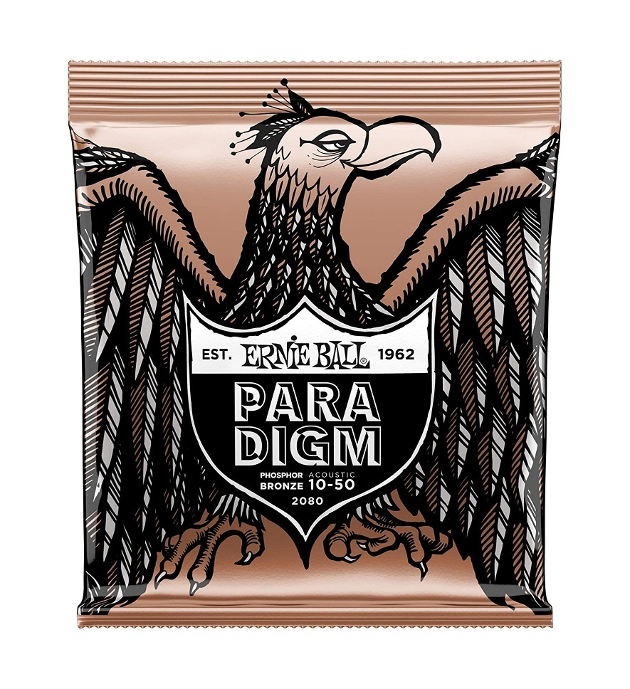 Ernie Ball PARADIGM Ex Light Phosphor Bronze Acoustic Guitar Strings - 10-50