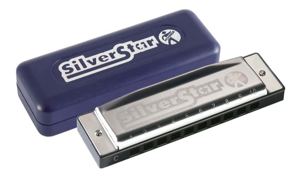 Hohner Silver Star 504/20 Harmonica - Key of A