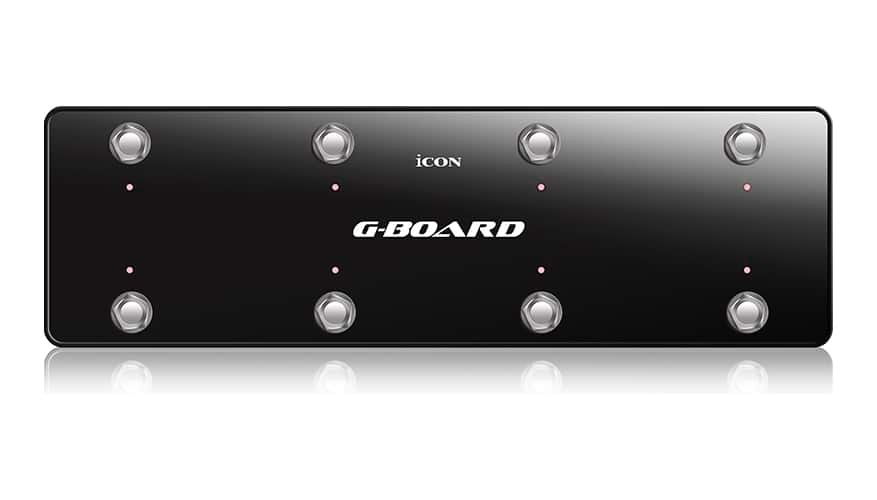 iCON G-Board USB MIDI Footswitch Pedal Controller - Black