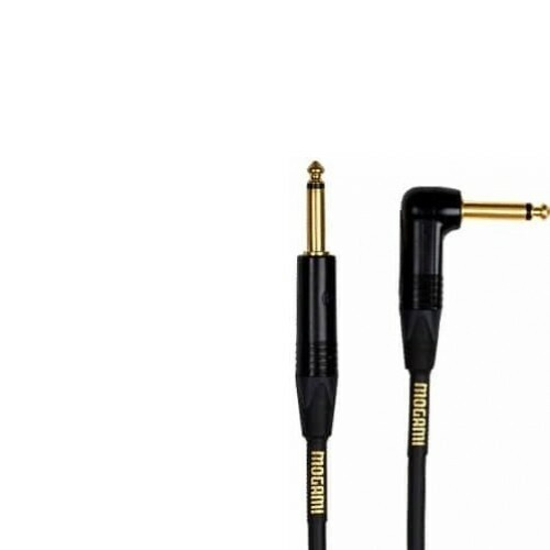 Mogami Gold Instrument Cable R/A Gold Plated Neutrik Plug - 3ft