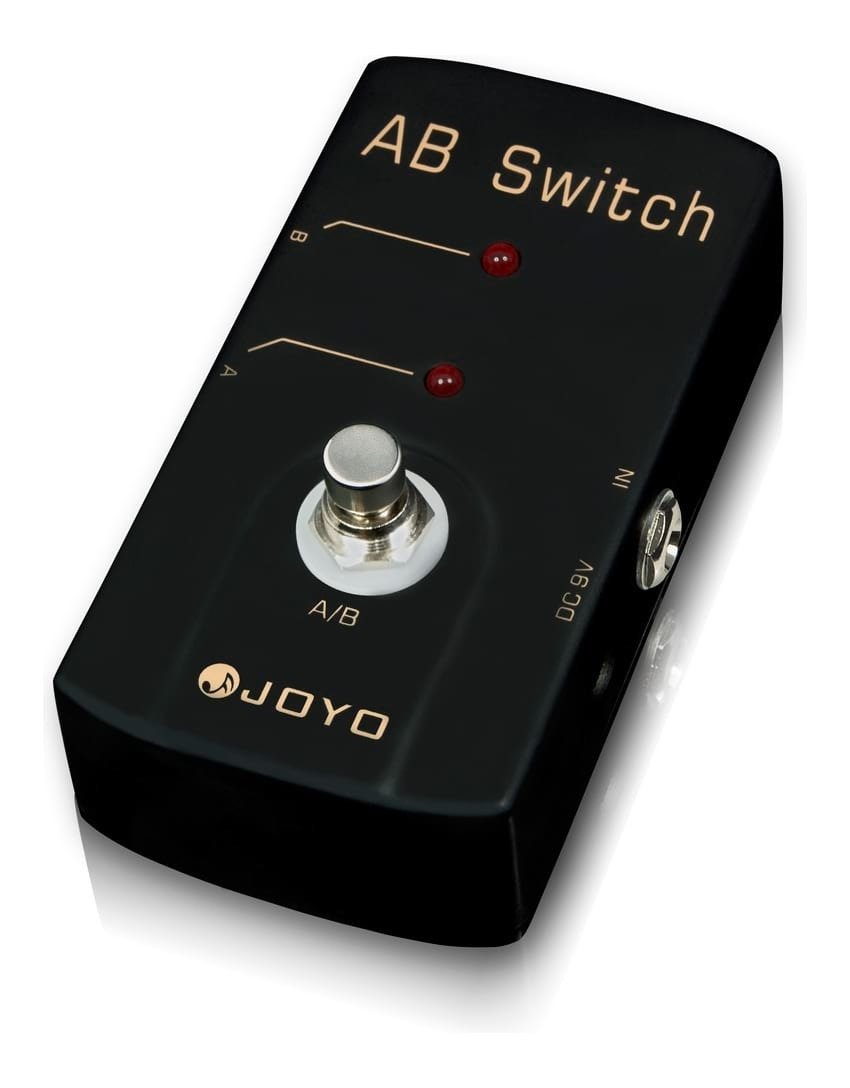 JOYO JF-30 A-B Signal Switch Pedal for Guitar