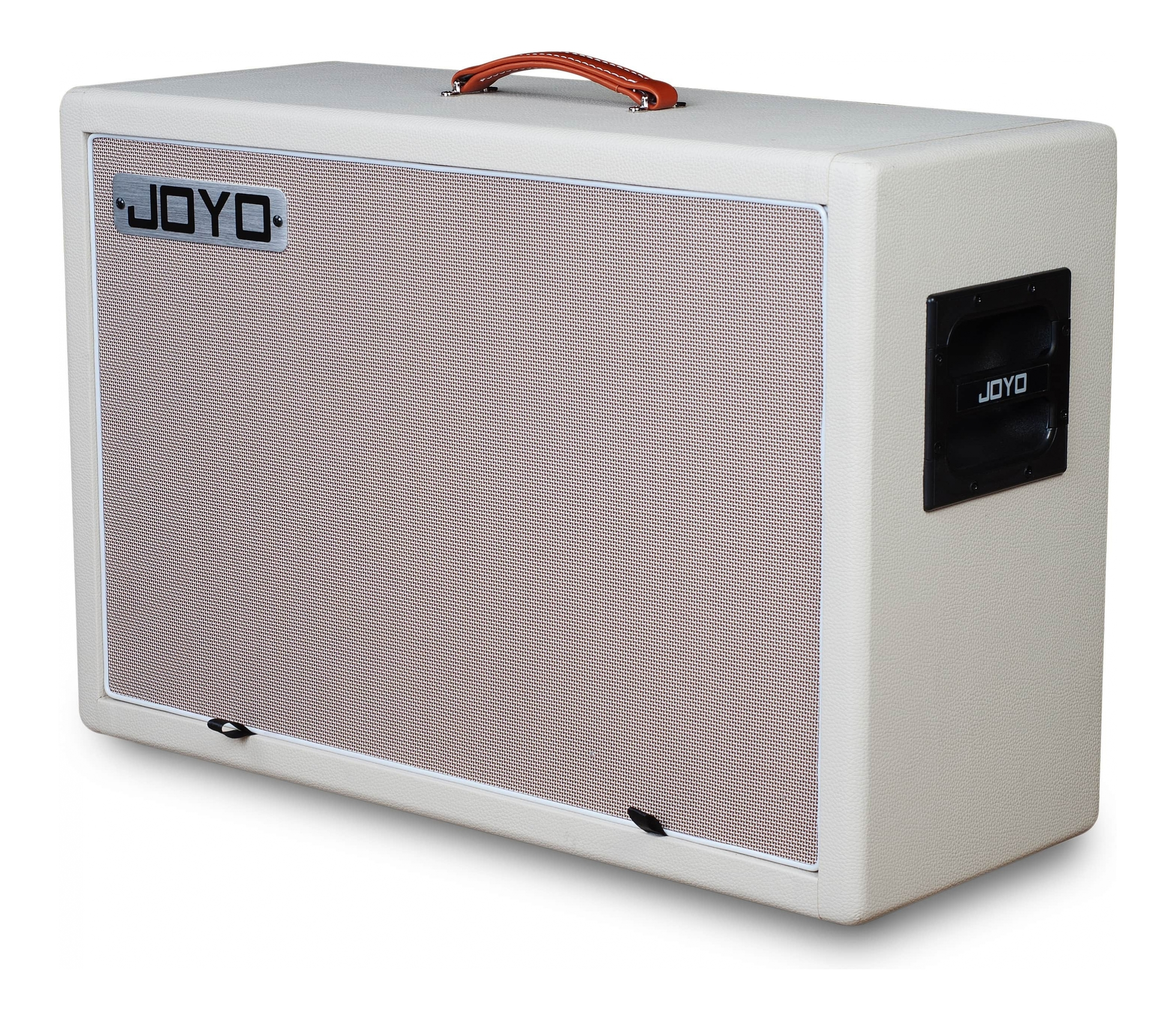 "JOYO 2x12"" Guitar Speaker Cabinet - Klonz Blonde with Celestion V"