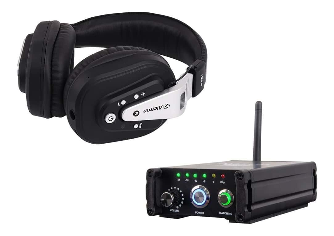 Alctron WG88 2.4GHz Wireless Transmitter and HE810 Wireless Headphone