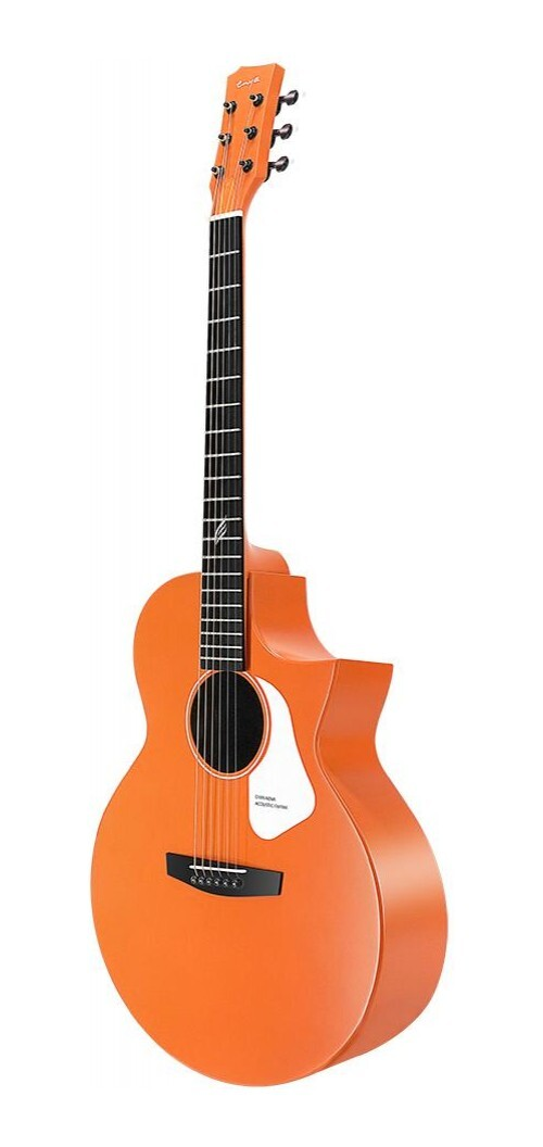 Enya Nova G Series Acoustic Guitar w/ Cutaway - Orange