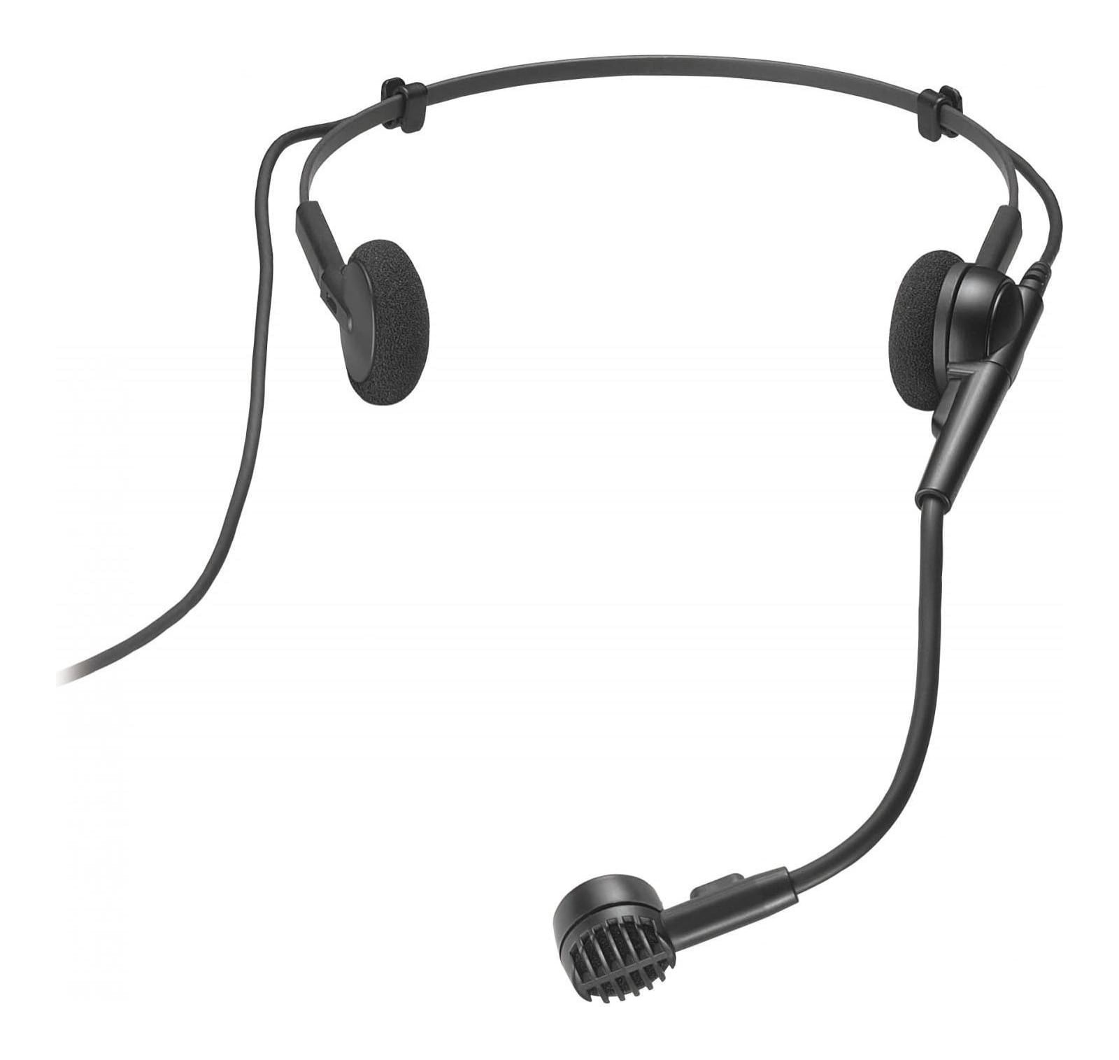 Audio-Technica PRO8HEcW Hypercardioid Dynamic Headworn Headset Microphone for Wireless Systems