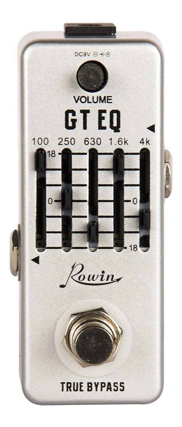 rowin lef 317a mini guitar 5 band graphic equalizer pedal swamp. Black Bedroom Furniture Sets. Home Design Ideas