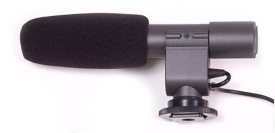 iSK EM-568 Stereo Condenser Camera / Interview Microphone