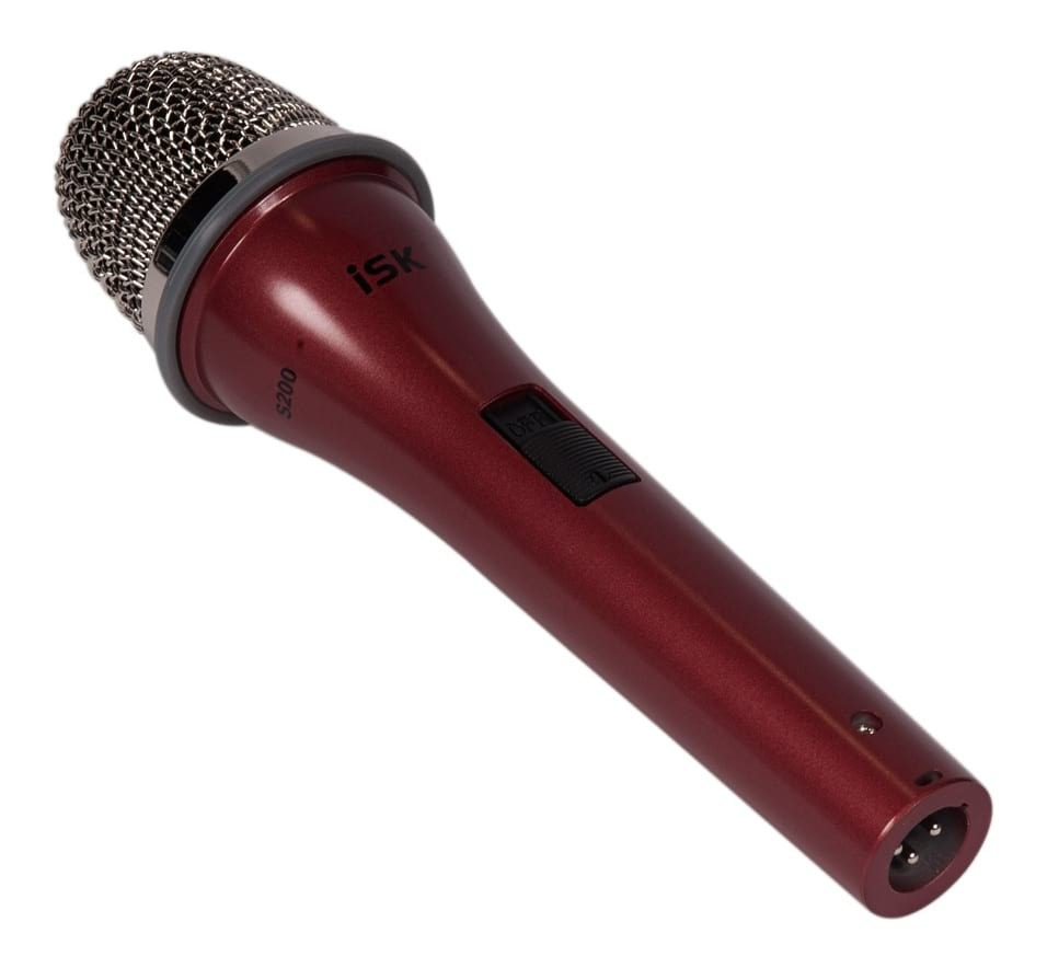 iSK S200-red Multi-function Studio Condenser Microphone