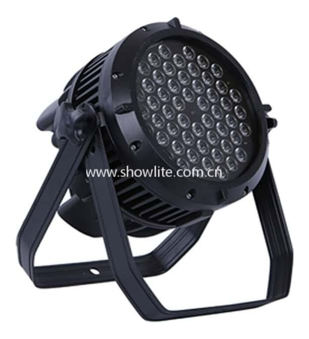 Showlite P5403-IP Outdoor Lighting LED Par Can - 54 x 3W RGBW