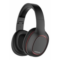 Ausdom M09 Bluetooth Foldable Over-Ear Wired Wireless Headphones - Black