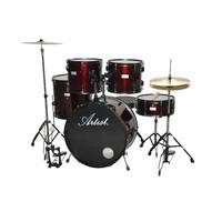 Standard 5 Piece Rock Drum Kit + Cymbals, Hardware and Stool