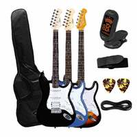 Artist ST Style Electric Guitar Plus Bag, Tuner + Accessories