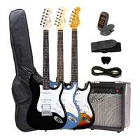 STHPK Electric Guitar with Amp and Accessories