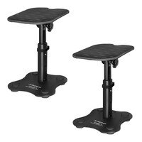 "Alctron MS180 5"" Desktop Speaker Stand - Pair - Black"