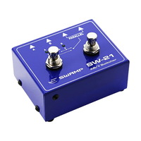 SWAMP Guitar A/B Amp Switch + Y Splitter Signal Router