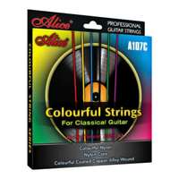 Alice A107C Multi-Coloured Classical Guitar Strings 28-43