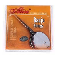 Alice Steel AJ05 Banjo Strings - 5 String Set - 9-21
