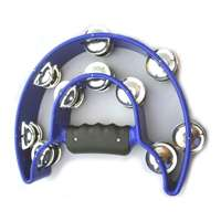 Alice Hand-Held Blue Tambourine