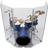 SWAMP 5 Panel Drum Shield Isolation Booth