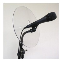 SWAMP Mic Shield Diffuser Feedback Deflector