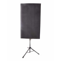 Portable Acoustic Foam Panel Isolation Gobo w/ Stand - 600mm x 1200mm