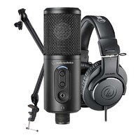 Audio-Technica Content Creator Pack for Podcasting Recording