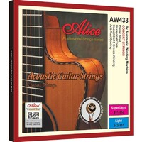 Alice AW433 85/15 Bronze Acoustic Guitar String Set Light 12-53
