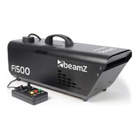 Beamz F1500 Fazer with DMX and Timer Remote 1500W
