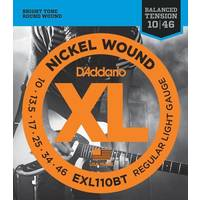 D'Addario EXL110BT XL Balanced Tension Electric Guitar Strings 10-46